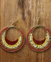 Tienda Elena - Boucles Acapulco 1 - bijou ethnique - navajo - perles de rocaille
