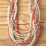 Tienda Elena - collier Maya 1 - entrelacé - perles de rocaille - bijou ethnique - indian spirit