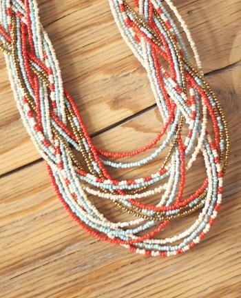 Tienda Elena - collier-maya-2 - entrelacé - perles de rocaille - bijou ethnique - indian spirit