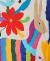 Tienda Elena - Housse Otomi brodée - âne - 2 - fait main - colorée - Hecho en Mexico - artisanat et créateurs mexicains - Mexique - décoration intérieure