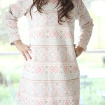 Robe pastel - 1 - style ethnique - bohème chic - Tienda Elena