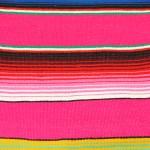 Tienda Elena - Sarape fushia - couleur principale fushia - Décoration et artisanat mexicain - Fait main - Hecho en Mexico