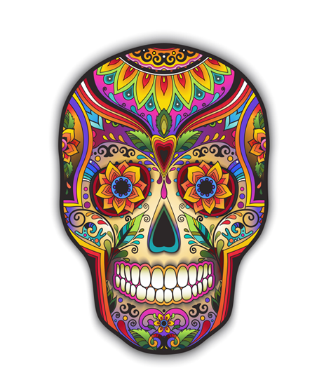 Tienda Elena - crâne mexicain - calavera mexicana - Fête des morts - mexique - blog