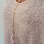 Tienda Elena - Sautoir plumes - 2 - bohème chic - bijoux ethniques