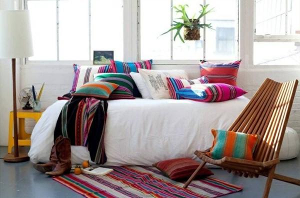 Modèle-de-couleur-Idées-mexicaine-intérieur-déco-design