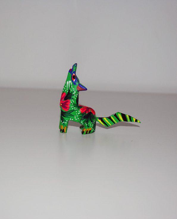 Tienda Elena - Mini Alebrijes coyote - Fait main - hecho en mexico - colorés - Mexique - 3