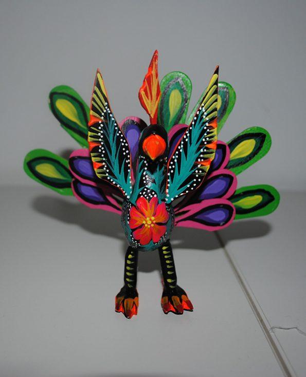 Tienda Elena - Alebrijes paon - Fait main - hecho en mexico - colorés - Mexique - 2