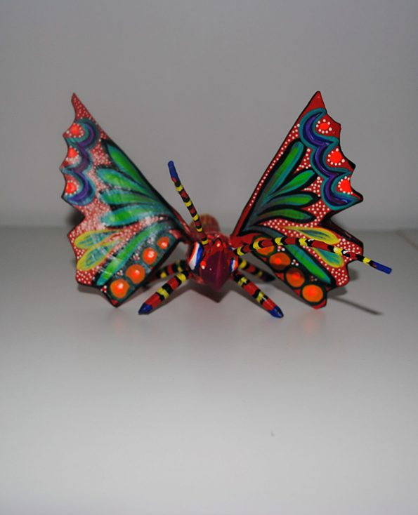 Tienda Elena - Alebrijes papillon - Fait main - hecho en mexico - colorés - Mexique - 3