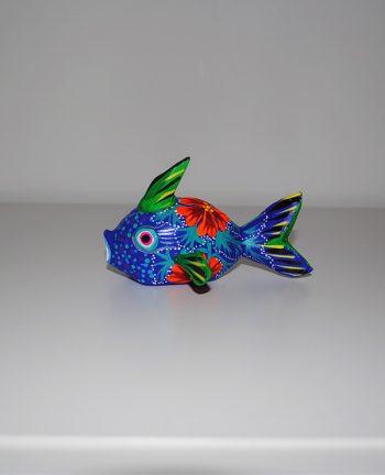 Tienda Elena - Alebrijes poisson - Fait main - hecho en mexico - colorés - Mexique - 3