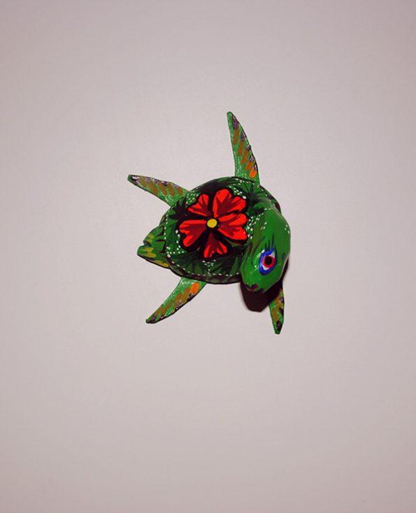 Tienda Elena - Mini Alebrijes tortue - Fait main - hecho en mexico - colorés - Mexique - 1