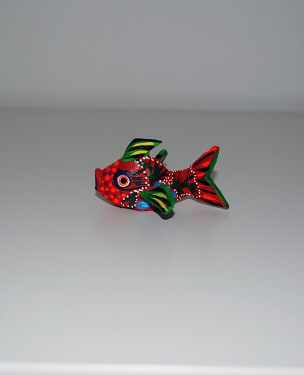 Tienda Elena - Mini Alebrijes poisson - Fait main - hecho en mexico - colorés - Mexique - 4