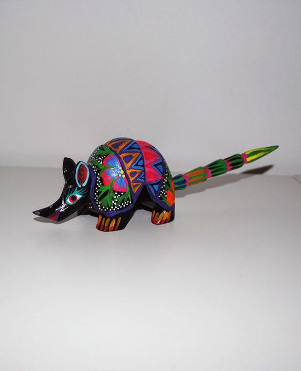 Tienda Elena - Alebrijes tatou - Fait main - hecho en mexico - colorés - Mexique - 3