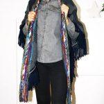 Tienda Elena - Mode et inspiration mexicaine - cape courte - 3 - mode bohème chic - ethnique