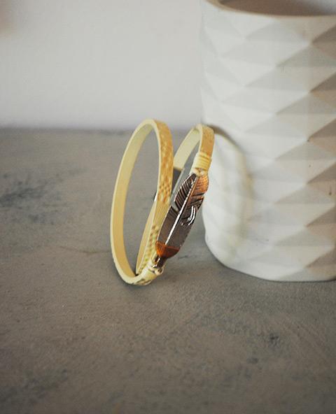 Bracelet plume - Tienda Elena - Mode et inspiration mexicaine - 1