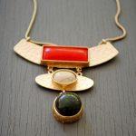 Collier pierre rouge - Tienda Elena - Mode et inspiration mexicaine - Nouveau à la une