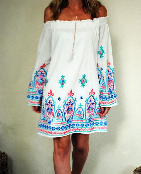 Tienda Elena - Mode et inspiration mexicaine - robe Bardot - 1