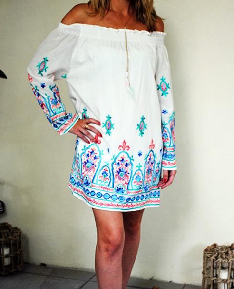 Tienda Elena - Mode et inspiration mexicaine - robe Bardot - 3