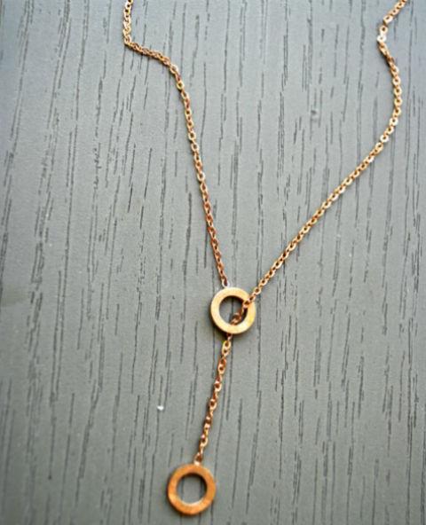 Collier acier doré - Tienda Elena - Mode et inspiration mexicaine - 3