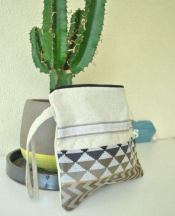 Tienda Elena - Mode et inspiration mexicaine - pochette beige - accessoires - bohème chic - 2
