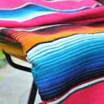 Tienda Elena - Sarape fushia - couleur principale fushia - Décoration et artisanat mexicain - Fait main - Hecho en Mexico - 2