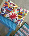 Housse taxco - Tienda Elena - 1 - Housse Otomi brodée - fait main - colorée - Hecho en Mexico - artisanat et créateurs mexicains - Mexique - décoration intérieure