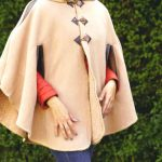 Tienda Elena - Poncho écru détail cuir - Mexique - hecho en mexico - esprit bohème - tendance - mode - 1