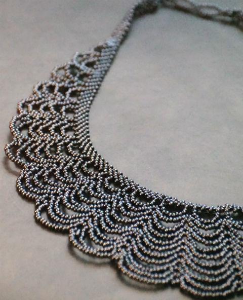 Tienda Elena - collier gypsy spirit - bijou ethnique - perles de rocaille - look bohème - amérindien - 2