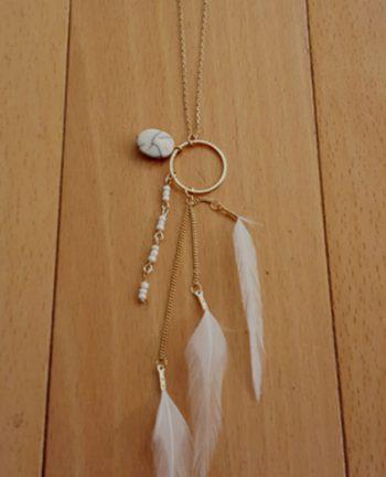 Tienda Elena - Sautoir minimaliste - 2 - bohème chic - bijoux ethniques