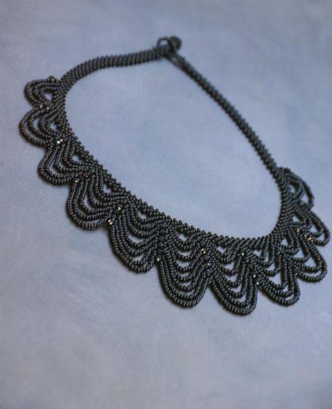 Tienda Elena - collier florida - bijou ethnique - perles de rocaille - look bohème - amérindien - 1