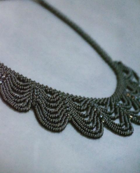 Tienda Elena - collier florida - bijou ethnique - perles de rocaille - look bohème - amérindien - 2