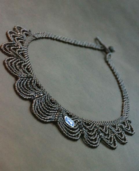 Tienda Elena - collier navajo - bijou ethnique - perles de rocaille - look bohème - amérindien - 1