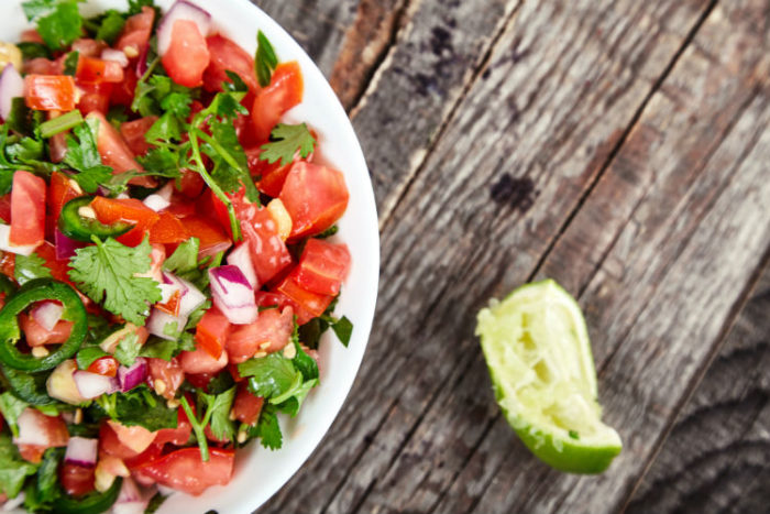 Tienda Elena- Recette mexicaine salade Pico de Gallo - Plat mexicain - Blog