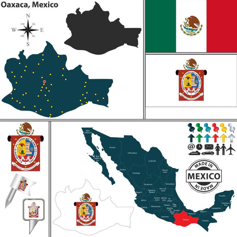 Tienda Elena - Mode et inspiration mexicaine - carte oaxaca mexique - blog
