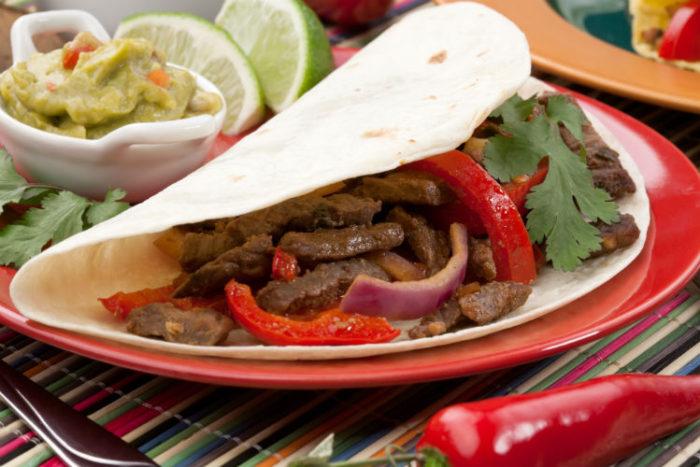 Tienda Elena - Mode et inspiration mexicaine - recette mexicaine - manger sain et bon - fajitas de boeuf - blog