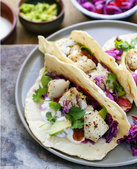 Tienda Elena - Blog - Recette de Tacos au poisson grillé - Mexique - recette saine