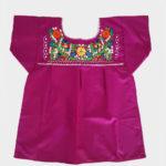 Tienda Elena - Blouse mexicaine violette - artisanat mexicain - Fait main - hecho en Mexico - style bohème chic - hippie - 1