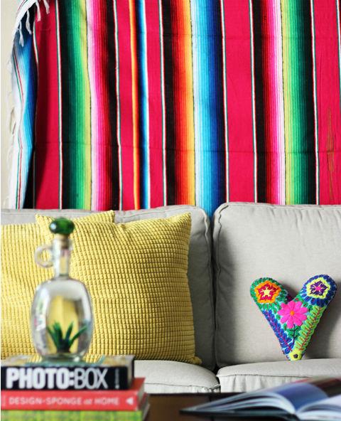 Tienda Elena - sarape mexicain - deco mexique - blog - 1