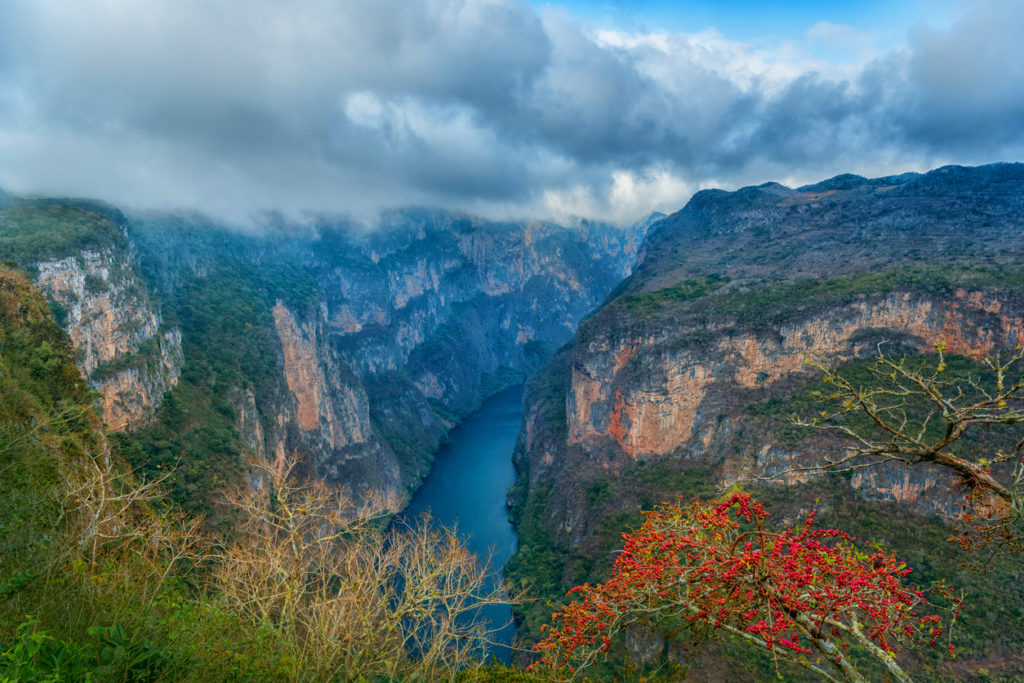 Le canyon du Sumidero, Mexique