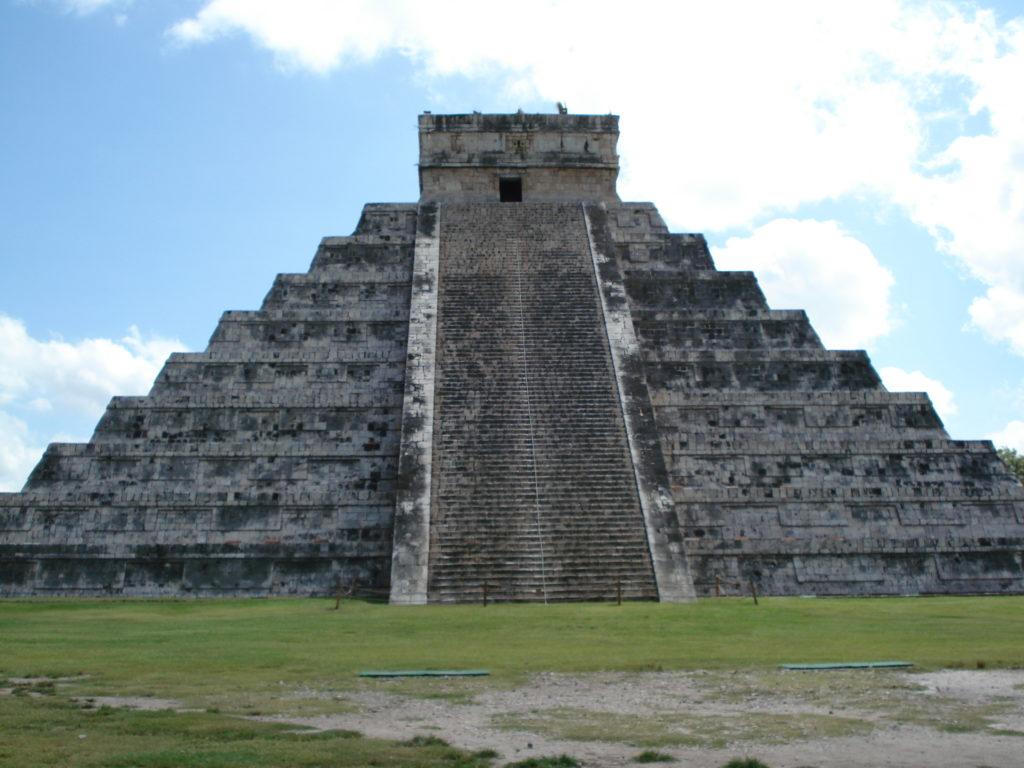 La cité de Chichen Itza, Méxique