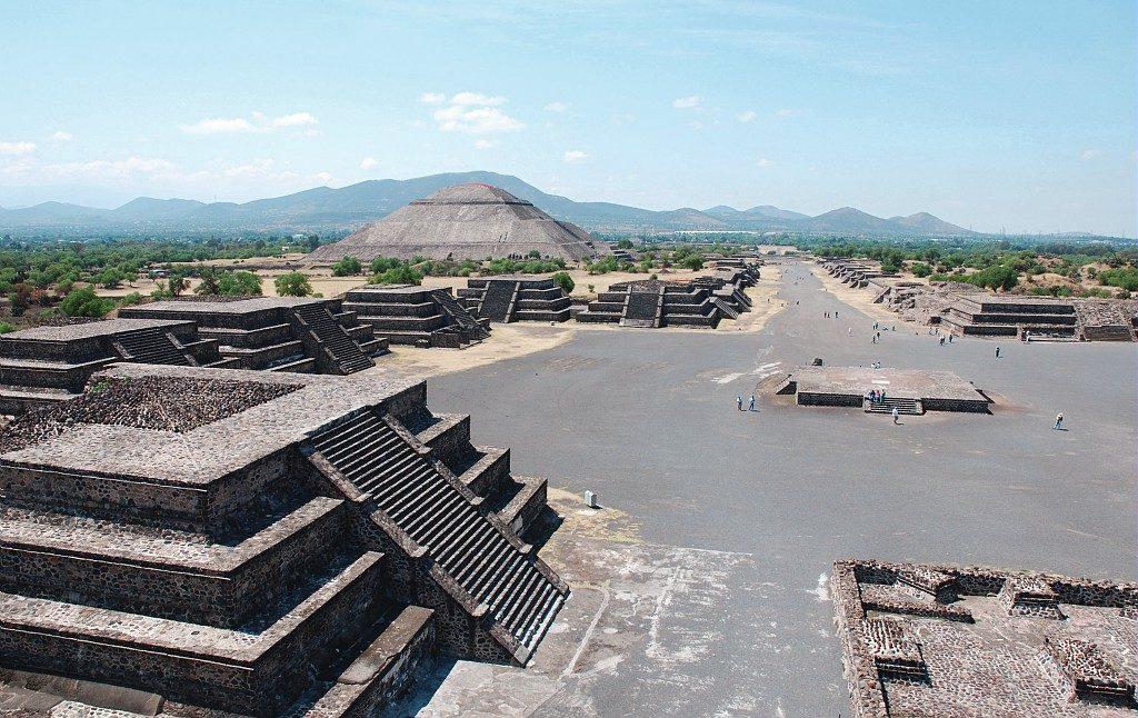Site archéologique de Monte Alban, Mexique