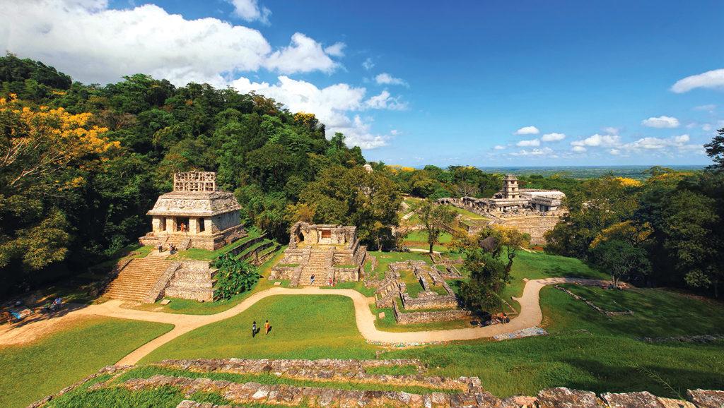 La citée maya de Palenque, Chiapas, Mexique