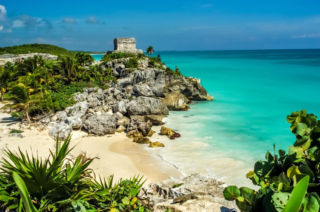 La cité Maya de Tulum au Mexique