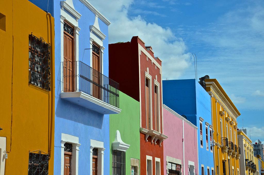 Ville de Campeche, Mexique