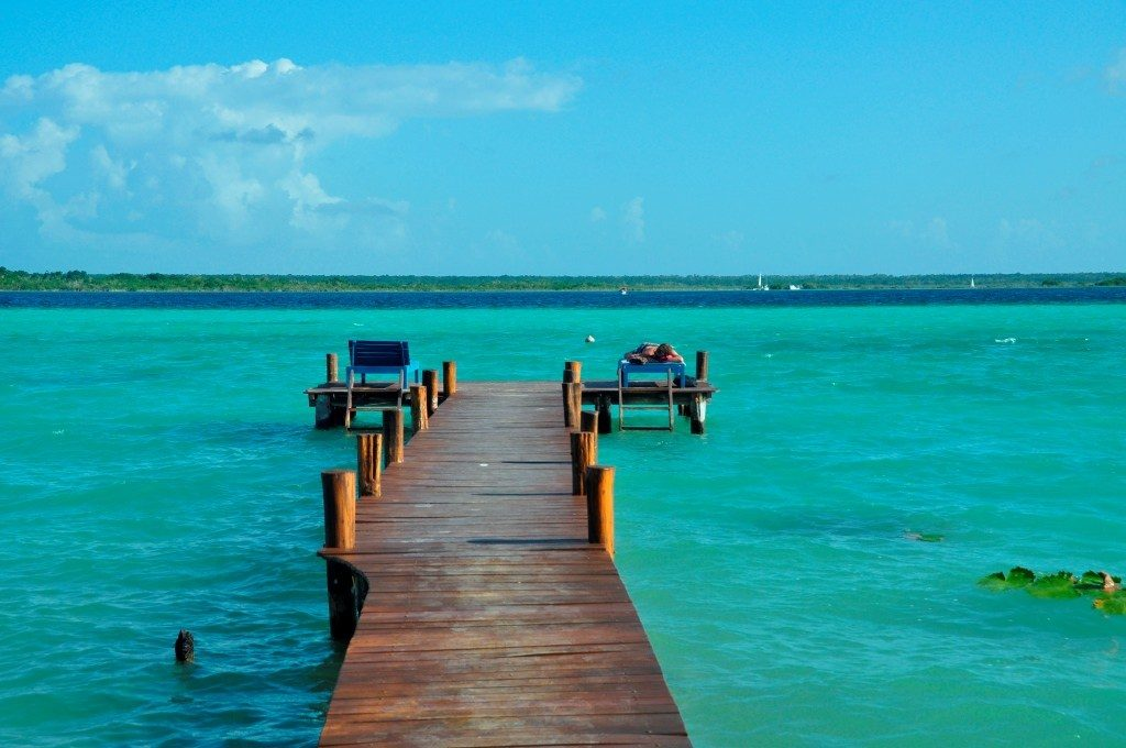 Laguna de Bacalar, Péninsule du Yucatán, Mexique
